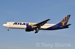 N641GT (bwi2muc) Tags: plane airplane flying airport aircraft aviation atlas boeing spotting 767 bwi atlasair 767300 bwiairport baltimorewashingtoninternationalairport bwimarshall n641gt