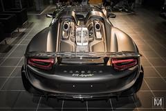 Porsche 918 Spyder (*AM*Photography) Tags: black nikon european spyder exotic german porsche hybrid rare supercar v8 matte 918 d3200 hypercar worldcars
