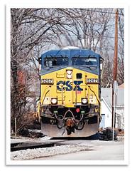 Passin' Thru (bogray) Tags: train ky locomotive ge csx hogtown harrodsburg es44dc dieselelectric stacktrain csxt5267 norfolksouthernlouisvilledistrict