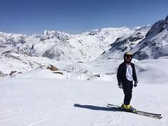 Penguins on the piste (Crystal Ski) Tags: mountain penguin views fancy fancydress onesie