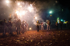 The Impossible Thunder (Big Little Dan) Tags: street party festival work religious lights nikon fireworks folk faith prayer explosion taiwan kitlens pop boom believe gods bang loud explode sounds bombing 2015 handan