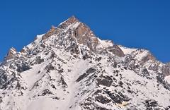Kinner kailash peak. (draskd) Tags: india landscape shimla scenery flickr scenic nikondigital himalayas himachalpradesh kinnaur kalpa kinnerkailash himalayanpeaks sutlejvalley kinnerkailashrange mtkinnerkailash nikond7100 kalpahotels himachalpeaks kalpaview mtjorkanden himalayasofkinnaur