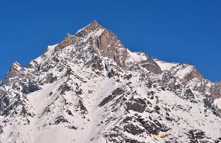 Kinner kailash peak.