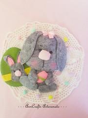Coelhinho da Pscoa/Bunny Easter (AnnCrafts Artesanato) Tags: bunny easter pattern egg pscoa lamb pdf feltro coelho decorao ovos moldes coelha cordeirinho bonecasfeltro