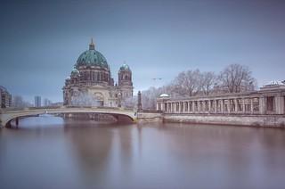 Berlin winterscene