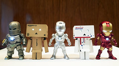 Found the Spies (Alfred Life) Tags: toy gr ricoh ricohgr  man iron  danboard