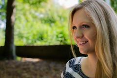 Sarah-Lena (David Klumpp) Tags: portrait outdoor herbst blond frau lächeln tübingen neckarinsel