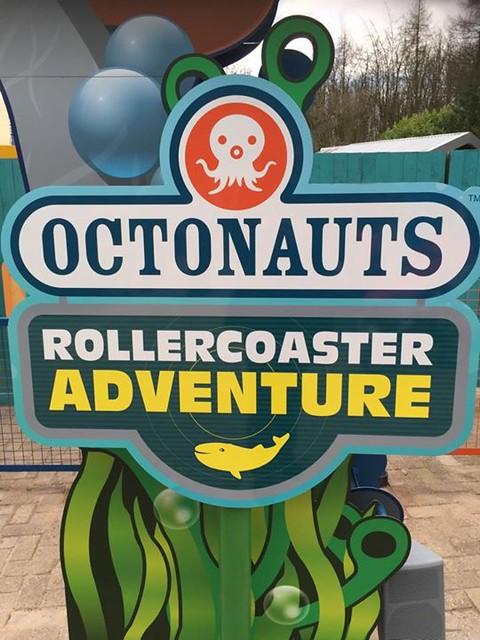 Octonauts Rollercoaster Adventure - Sign
