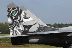 Tiger Tail of the Slovak Air Force MiG-29UBS/AS 5304 at Kleine-Brogel, Belgian Air Force Days 2014 (Jeroen.B) Tags: show flickr force belgium belgie air tiger tail days belgian 29 mig kleine slovak 2014 republiky brogel belgische fulcrum sily mikoyangurevich 5304 luchtmachtdagen kleinebrogel slovenskej ebbl mig29ubs sl vzdun ozbrojench n50903028253 kleinebrogel2014