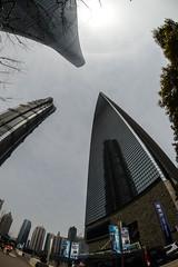 DSC_0272-7 (tamas.doczi) Tags: china skyline nikon skyscrapers shanghai fisheye    pudongskyline   theopener wordfinancialcentershanghai