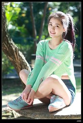 nEO_IMG_DP1U7130 (c0466art) Tags: light portrait cute smile female canon nice asia pretty sweet outdoor quality gorgeous taiwan showgirl figure lovely charming activity pure 1dx c0466art