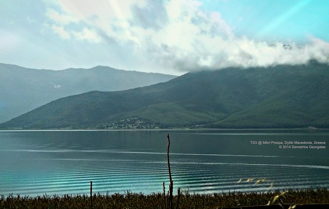 Small Prespa lake, Dytiki Macedonia,Greece