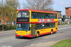 Midland Classic 52 YN54OAA (Andy4014) Tags: bus classic midland burton scania swadlincote omnidekka yn54oaa