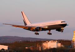 Mid East Jet 767-231(ER) VP-CME (birrlad) Tags: ireland sunset sunlight airplane airport aircraft aviation airplanes jet east landing international shannon finals boeing arrival approach runway mid 767 arriving b767 snn 767200 767200er b762 vpcme 767231er