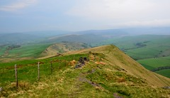 Up in the Hills (hapsnaps) Tags: mountains fence spring peakdistrict hills hazy hayfield slopes mountfamine 2016 greenfields upinthehills bowdenbridge hapsnaps
