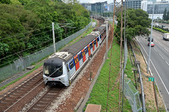 MTR - East Rail Line E96, Chinese University of Hong Kong (Howard_Pulling) Tags: camera train hongkong photo nikon photos picture zug trains april bahn mtr 2016 howardpulling d5100
