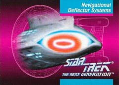 Star Trek The Next Generation 1992 series Trading Card 106 Front (zigwaffle) Tags: startrek card trading sciencefiction 1992 startrekthenextgeneration paramount impel