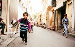 Childhood (DEARTH !) Tags: street travel boy india kite childhood children fun toys kid child indian culture kites punjab crocs dearth in hoshiarpur