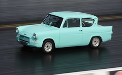 Ford Anglia (Fast an' Bulbous) Tags: santa england hot ford car race speed drag spring pod nikon automobile track power outdoor may gimp fast sunny strip vehicle panning motorsport acceleration d7100
