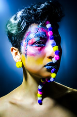 type II style 04 (Jef Harris) Tags: portrait fashion lights hands colorful shadows ottawa homestudio nikond7000