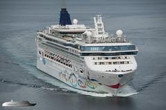 Norwegian Star (Aviation & Maritime) Tags: norwegianstar norwegiancruiseline ncl cruiseship cruise bergen norway