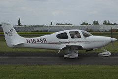 15/05/16 - Cirrus SR20 - N164SR (gbadger1) Tags: sunday may 15 20 sr cirrus airfield matters 2016 wellesbourne mountford egbw n164sr