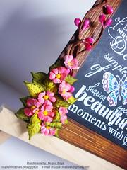 Birds & Bloom Chalkboard 2 (Nupur Creatives) Tags: heartfelt creations heartfeltcreations