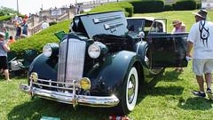 1937 Packard Twelve 1508 Convertible Sedan (Frankleton Foto) Tags: cars twelve packard