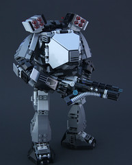 Lancer Railgun (DeadGlitch71) Tags: infantry army lego military atlas rockets revolver custom titan mecha mech battlemech railgun ldm foitsop titanfall mechassalt