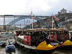 Douros River (elianek) Tags: portugal rio river boats europa europe barcos ponte porto douro brigde riodouro