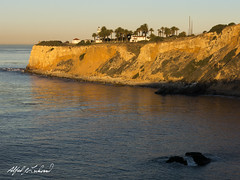 Point Vincent Lighthouse (Alfred J. Lockwood Photography) Tags: ocean california morning winter lighthouse seascape nature landscape pacificocean pacificcoast californiacoast palosverdes palosverdespeninsula alfredjlockwood