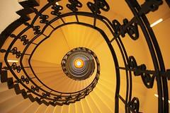 Duo (Elbmaedchen) Tags: stairs mix hamburg treppe fotomontage brahmskontor altepoststephansplatz