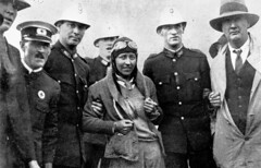 """Under Benevolent Arrest, Constables assisting Miss Johnson from her plane after the crash"", Brisbane, 1930 [1000  643] #HistoryPorn #history #retro http://ift.tt/1OKQ5p3 (Histolines) Tags: history brisbane retro timeline 1000 1930 643  vinatage historyporn histolines underbenevolentarrestconstablesassistingmissjohnsonfromherplaneafterthecrash httpifttt1okq5p3"