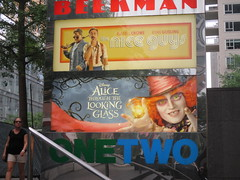 Alice Through the Looking Glass Beekman Marquee 9265 (Brechtbug) Tags: new york city nyc streets film glass cat movie poster marquee tim nice theater looking cheshire theatre alice lewis guys disney billboard lobby 2nd johnny billboards carroll through mad too depp avenue wonderland between hatter burtons marquees 66th in 2016 beekman standee 67th 05282016