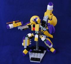 "(MCS) ""One Man Band"" (phayze81) Tags: mech mecha lego moc scifi sciencefiction mfz mf0 mobileframezero mobileframe mf frame mobilecoresystem mcs mobilecore mixels themixies"