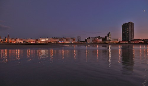 Margate Beach from Sea