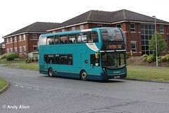 Arriva Midlands 4505 YX16OJE (Andy4014) Tags: bus leicester 400 enviro arriva arrivamidlands yx16oje