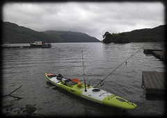 Stealth kayak (Nicolas Valentin) Tags: cloud green scenery lochlomond stealthkayak