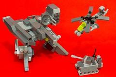 Will you fight? (yudho w) Tags: lego military mecha mech moc afol myowncreation legomoc legomilitary