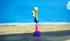 Barbie Figure By Mega Bloks 2015 : Diorama Beach - 6 Of 9 (Kelvin64) Tags: barbie figure by mega bloks 2015 diorama beach