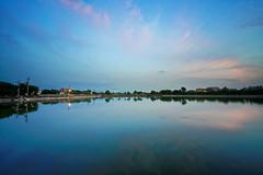 2016-06-08 18.51.12 (pang yu liu) Tags: park sunset reflection pond dusk 06  pate jun   2016