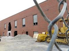 moved mountain, Joliet, IL (stoneofzanzibar) Tags: joliet buildings demolition