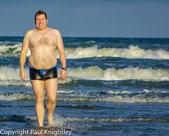 My Bond impression! (paul.knightley) Tags: chubby belly chest hairy boy guy man male bulge beach body speedo speedos sea seaside beachbody swim swimwear