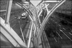Warszawa, Aleja Armii Krajowej (facebook.com/DorotaOstrowskaFoto) Tags: metal architecture construction tunnel tunel warszawa konstrukcja carroute alejaarmiikrajowej