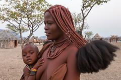Mother and Child 8500 (Ursula in Aus - Away) Tags: otjomazeva himba africa namibia environmentalportrait