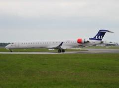 Scandinavian Airlines  (Cityjet)                                        Bombardier CRJ900                                      EI-FPH (Flame1958) Tags: sas scandinavian crj scandinavianairlines 2016 crj900 0616 cityjet 6609 deliveryflight 170616 eifph cityjetcrj900