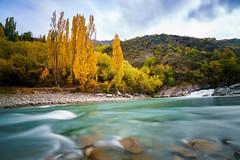 Queenstown New Zealand (photoserge.com) Tags: longexposure blue autumn landscape queenstown instagram ifttt
