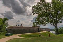 Fort-Washington-9 (vaabus) Tags: fortwashington fortwashingtonmaryland fortwashingtonpark bastion casemate cannon 24poundercannon caponniere civilwardefensesofwashington fortification