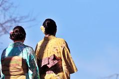 Real? or Wannabe? | Kyoto (), Japan (Ping Timeout) Tags: world city november autumn ladies vacation sky people mountain holiday color colour make up japan wonder real temple costume highlands kyoto shrine dress outdoor guess candid buddhist capital fake basin unesco mount maiko geisha  imperial  nippon kimono priest behind tradition prefecture miyako kansai region  kiyomizudera pilgrimage metropolitan yamashiro wannabe kannon 778 nichiren nishiyama higashiyama honshu 2015 reijo  kitayama keishi 1633 otowa tamba     saiky   ky wwwkiyomizuderaorjpen