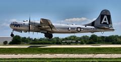 "B-29 Superfortress ""FiFi"" (ericok) Tags: oshkosh eaa airventure airshow flying demonstrations aircraft warbirds reenactment wwii aerobatic aerobatics flight heritage airforce coastguard night fireworks pyrotechnics b29 superfortress fifi"